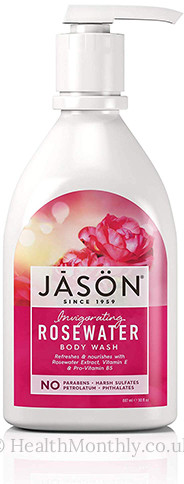 Jason Natural Invigorating Rosewater Shower Body Wash