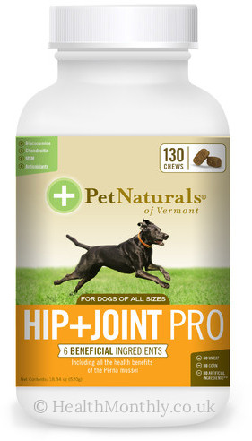 Pet Naturals Hip & Joint Pro for Dogs