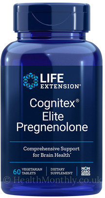 Life Extension Cognitex® Elite Pregnenolone