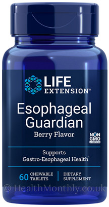 Life Extension Esophageal Guardian, Berry Flavor