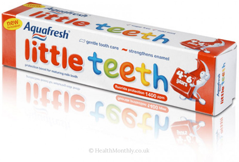 Aquafresh Little Teeth Toothpaste
