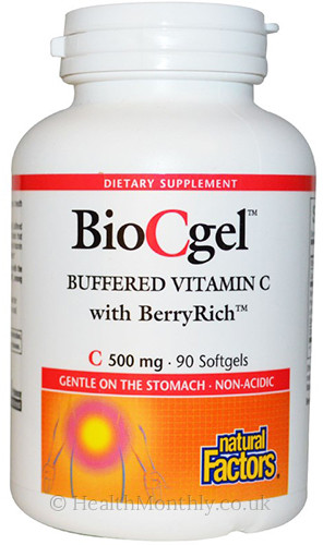 Natural Factors BioCgel High Absorption Ascorbate C