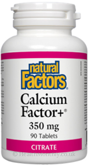 Natural Factors Calcium Factor+