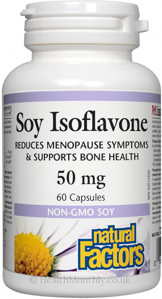 Natural Factors Soy Isoflavone Complex