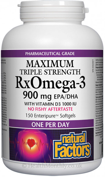 Natural Factors Triple Strength Rx Omega-3
