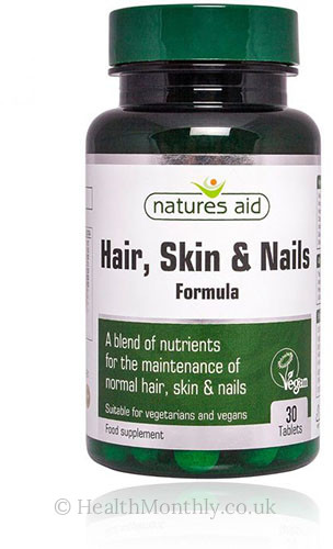 Natures Aid Hair, Skin & Nails Formula