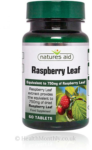Natures Aid Raspberry Leaf