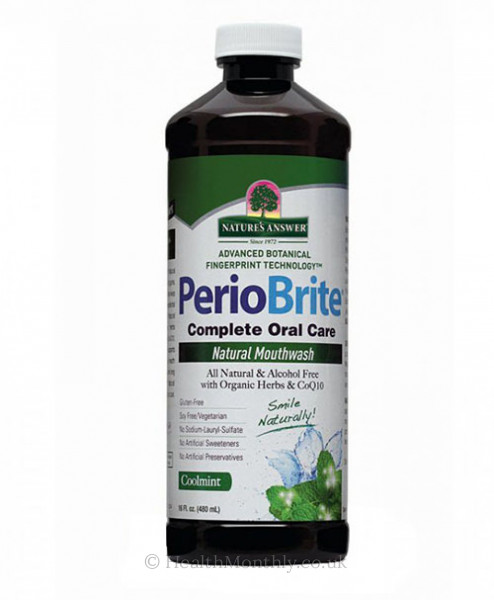 Nature's Answer Periobrite Natural Mouthwash