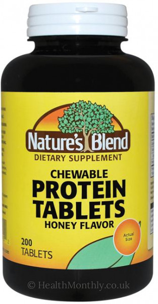Nature's Blend Chewable Protein Tablets