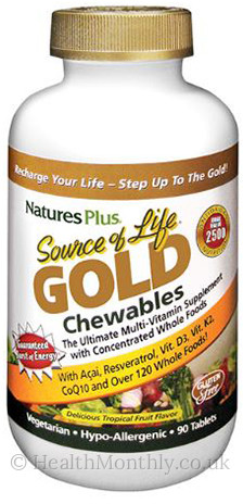 Natures Plus® Source Of Life Gold Tropical Fruit
