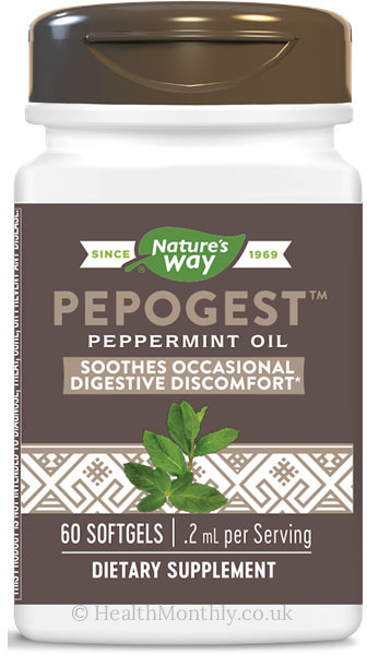 Nature's Way Pepogest, Peppermint Oil