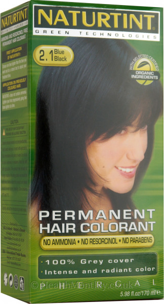 Naturtint Permanent Natural Hair Colour 2.1