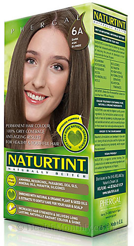 Naturtint Naturally Better Permanent Hair Colour 6A Dark Ash Blonde