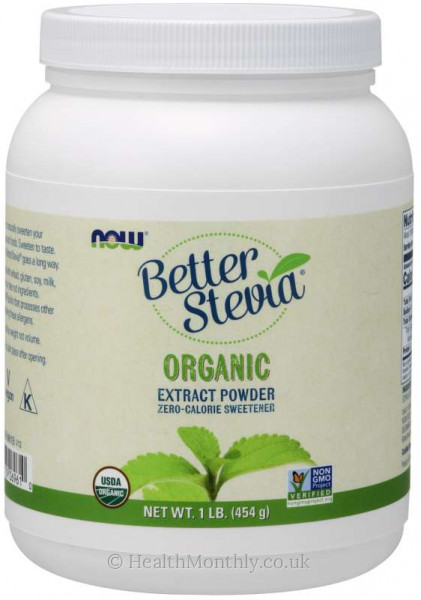 Now® BetterStevia® Organic Extract Powder
