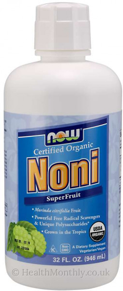 Now® Certified Organic Noni SuperFruit Juice