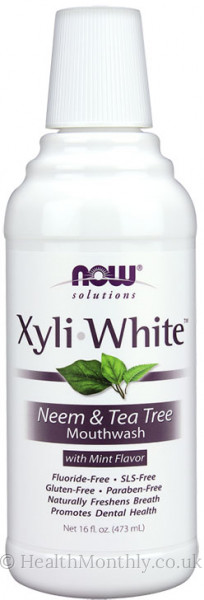 Now® XyliWhite™ Neem & Tea Tree Mouthwash