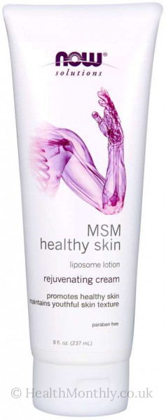 Now® Solutions, MSM Healthy Skin Liposome Lotion