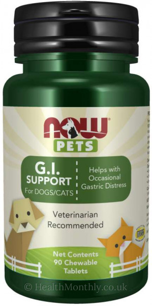 Now® Pets, G.I. Support for Dogs & Cats