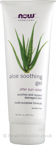 Now® Solutions, Aloe Soothing Gel