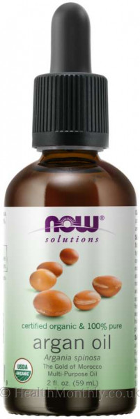 Now® Solutions, Certified Organic & 100% Pure Argan Oil