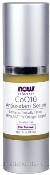 Now® Solutions, CoQ10 Antioxidant Serum