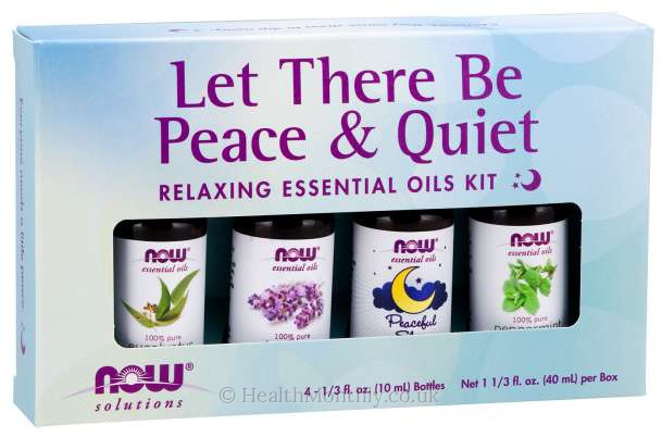 Now® Solutions, Let There Be Peace & Quiet Oil Kit