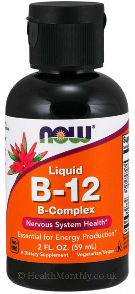 Now® Vitamin B-12 Complex Liquid