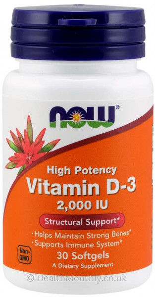 Now® Vitamin D-3, High Potency