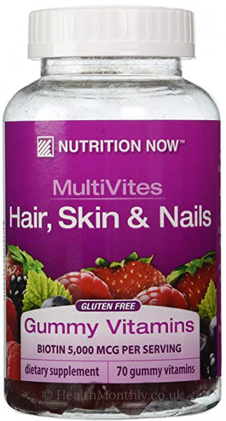 Nutrition Now MultiVites Hair Skin & Nails