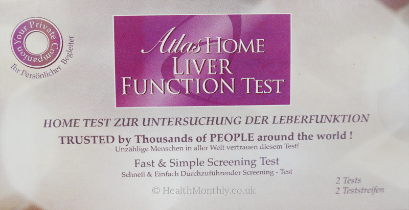 Atlas Home Liver Function Test Kit