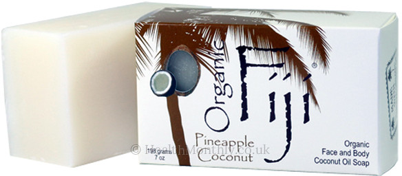 Organic Fiji Organic Pineapple Coconut Oil Soap