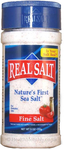Redmond Trading Real Salt Nature's First Sea Salt