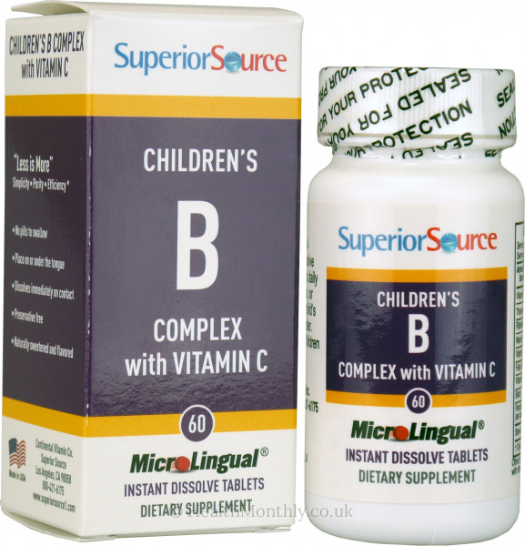 Superior Source Childrens B Complex with Vitamin C