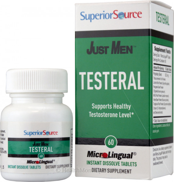 Superior Source Just Men Testeral