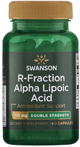 Swanson Double Strength R-Fraction Alpha Lipoic Acid