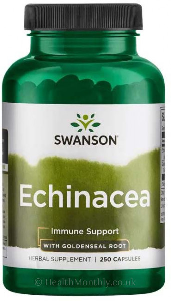 Swanson Echinacea with Goldenseal Root