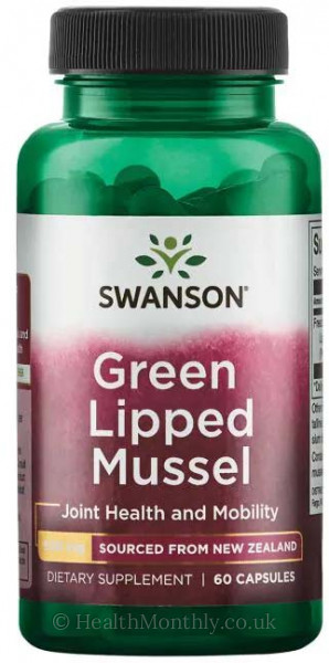Swanson New Zealand Green Lipped Mussel
