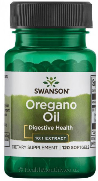 Swanson Oregano Oil 10:1 Extract