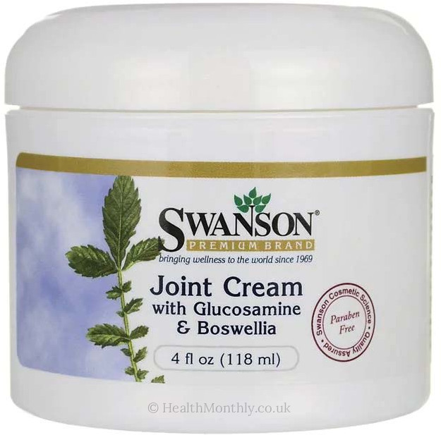 Swanson Joint Cream with Glucosamine & Boswellia