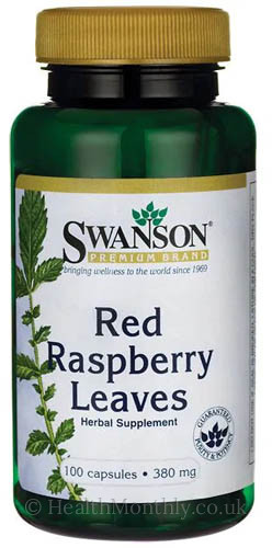 Swanson Red Raspberry Leaves