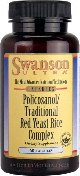 Swanson Ultra Policosanol, Traditional Red Yeast Rice Complex