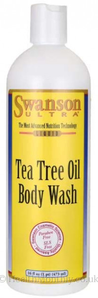 Swanson Ultra Tea Tree Oil Body Wash