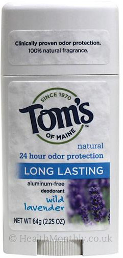 Tom's of Maine Natural Long-Lasting Care Deodorant