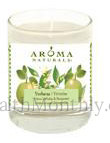 Aroma Naturals Verbena Glass Soy Votive Candle