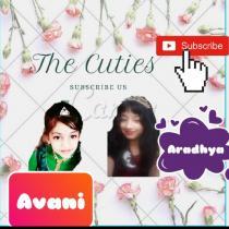 The Cuties Aradhya and Avani ❤