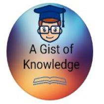A Gist of Knowledge