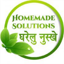 (homemade solution)
