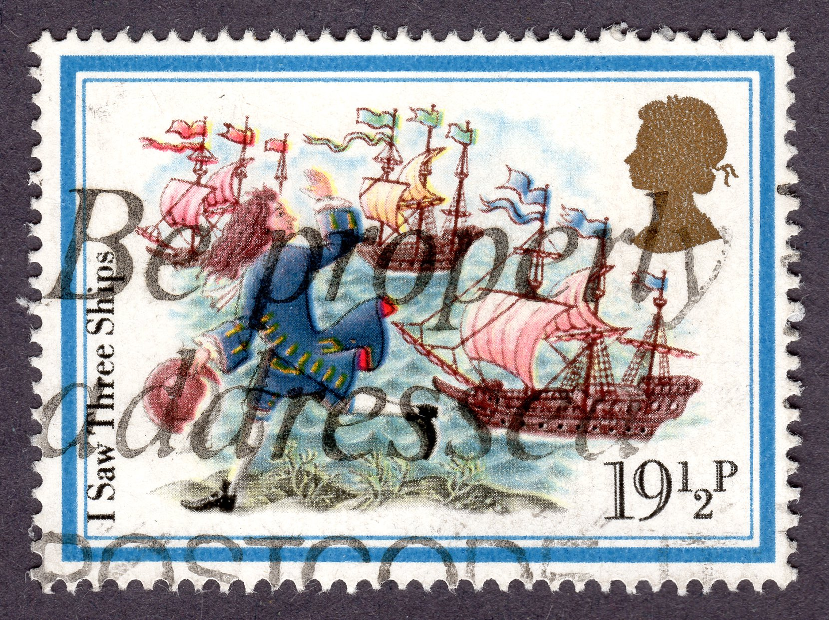i saw three ships... philately revenue stamps
