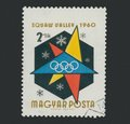 1960 Winter Olympics Squaw Valley Stamp (2)