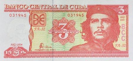3 Pesos Cubanos